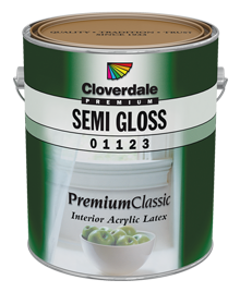 <p>Premium Classic Interior Acrylic Latex, Semi-Gloss (GL5)</p>
