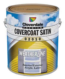 <p>WeatherOne<sup>&reg;</sup> CoverCoat 100% Acrylic Exterior Finish, Satin (GL3)</p>