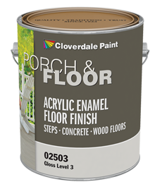 <p>Porch &amp; Floor 100% Acrylic Finish</p>
