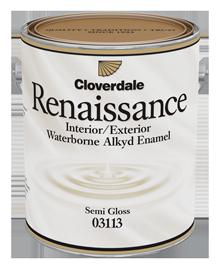 <p>Renaissance<sup>&reg;</sup>&nbsp;Hybrid Interior/Exterior Finish, Semi-Gloss (GL5)</p>