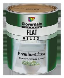 <p>Premium Classic Interior Acrylic Latex, Flat (GL1)</p>