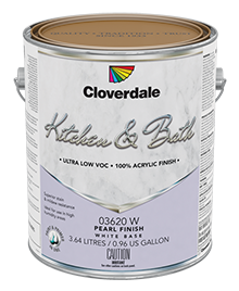 <p>Kitchen & Bath 100% Acrylic Latex Finish, Pearl (GL3)</p>