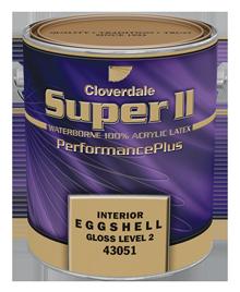 <p>Super2 100% Acrylic Latex, Eggshell (GL2)</p>