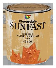 <p>Sunfast<sup>&reg;</sup>&nbsp;Exterior Wood Finish, Satin</p>