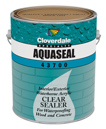 <p><span>AquaSeal Clear Acrylic Water Repellant</span></p>