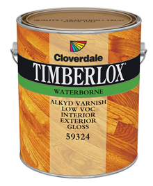 <p>Timberlox Waterborne Alkyd Varnish, Gloss (GL6)</p>