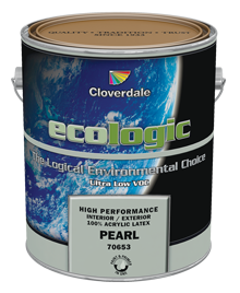 <p>Ecologic<sup>&reg;</sup>&nbsp;Ultra Low VOC 100% Acrylic Latex Finish, Pearl (GL3)</p>