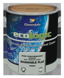 <p>Ecologic<sup>®</sup>100% Acrylic Interior Washable Flat (GL1)</p>
