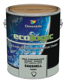 <p>Ecologic<sup>&reg;</sup>&nbsp;Ultra Low VOC 100% Acrylic Latex Finish, Eggshell (GL2)</p>