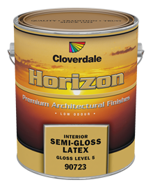 <p>Horizon Ultra Low VOC Interior Finish, Semi-Gloss (GL5)</p>
