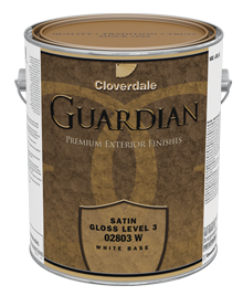 <p>Guardian 100% Acrylic Exterior Finish, Satin (GL3)</p>